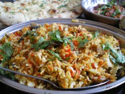 Magic Mushroom Rice