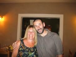 Mum and Stefanos