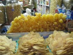 Sugar, or honeycomb or something.