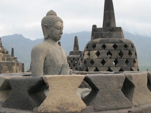 Borobodur Buddha