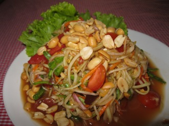 Som Tam - Spicy Green Papaya Salad