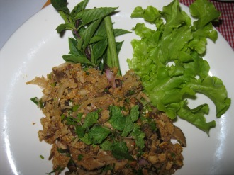 North Eastern Spicy Salad - Laab