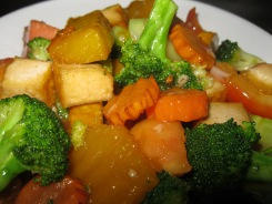Five-Colour Stir Fried Vegetables