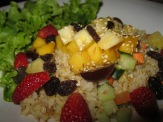 Brown Rice Salad with Mixed Fruit