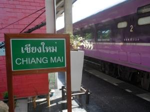 Platform, Chiang Mai Railway station